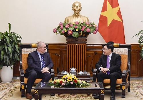 Việt Nam luôn coi trọng tăng cường quan hệ với Vương quốc Bỉ