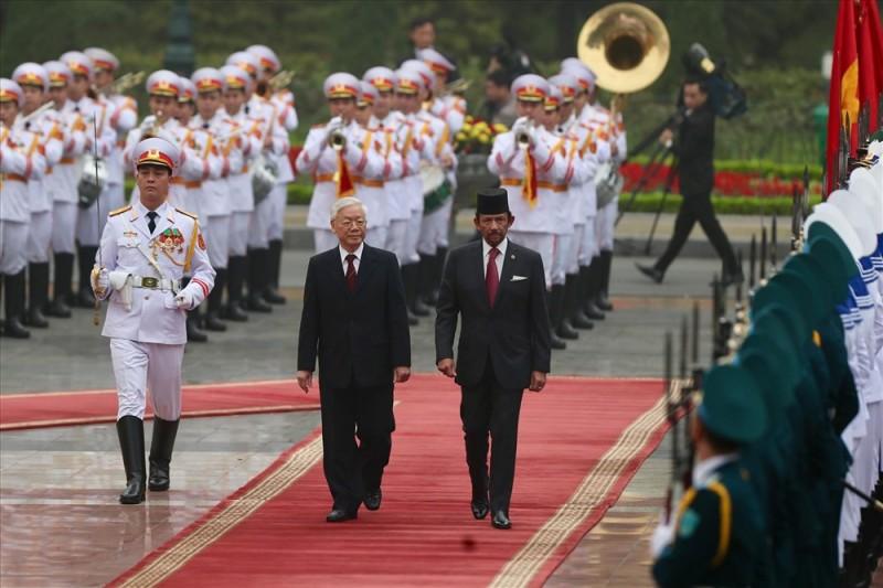 Việt Nam - Brunei: Phấn đấu đưa kim ngạch thương mại sớm đạt 500 triệu USD
