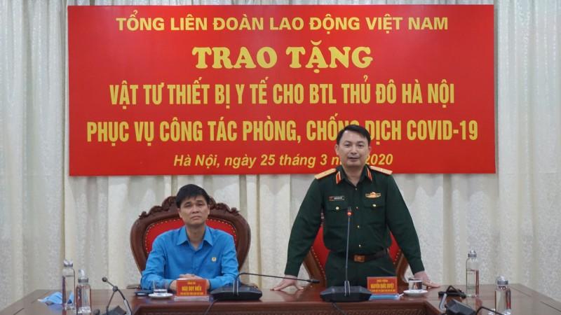 Cán bộ, chiến sĩ Bộ Tư lệnh Thủ đô luôn sẵn sàng, là lực lượng nòng cốt, đi đầuchống dịch