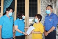 Bình Dương: Chủ tịch LĐLĐ tỉnh cảm ơn chủ nhà trọ giảm giá thuê phòng cho người lao động