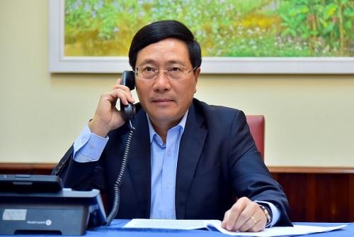 Nhật Bản sẽ tiếp tục tích cực hỗ trợ Việt Nam đối phó với dịch Covid-19