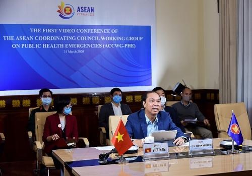 Sẽ tổ chức trực tuyến Hội nghị Cấp cao ASEAN về phòng chống COVID-19