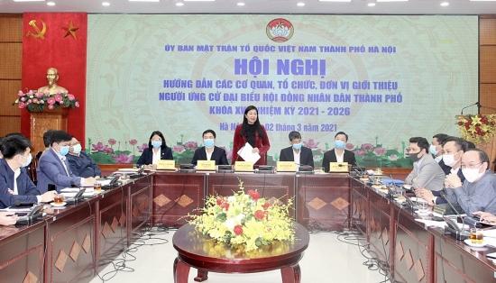 Giới thiệu người ứng cử đại biểu Hội đồng nhân dân Thành phố: Bảo đảm dân chủ, đúng luật
