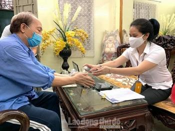 Từ 4/3: Hà Nội chi trả gộp 2 tháng lương hưu, trợ cấp bảo hiểm xã hội