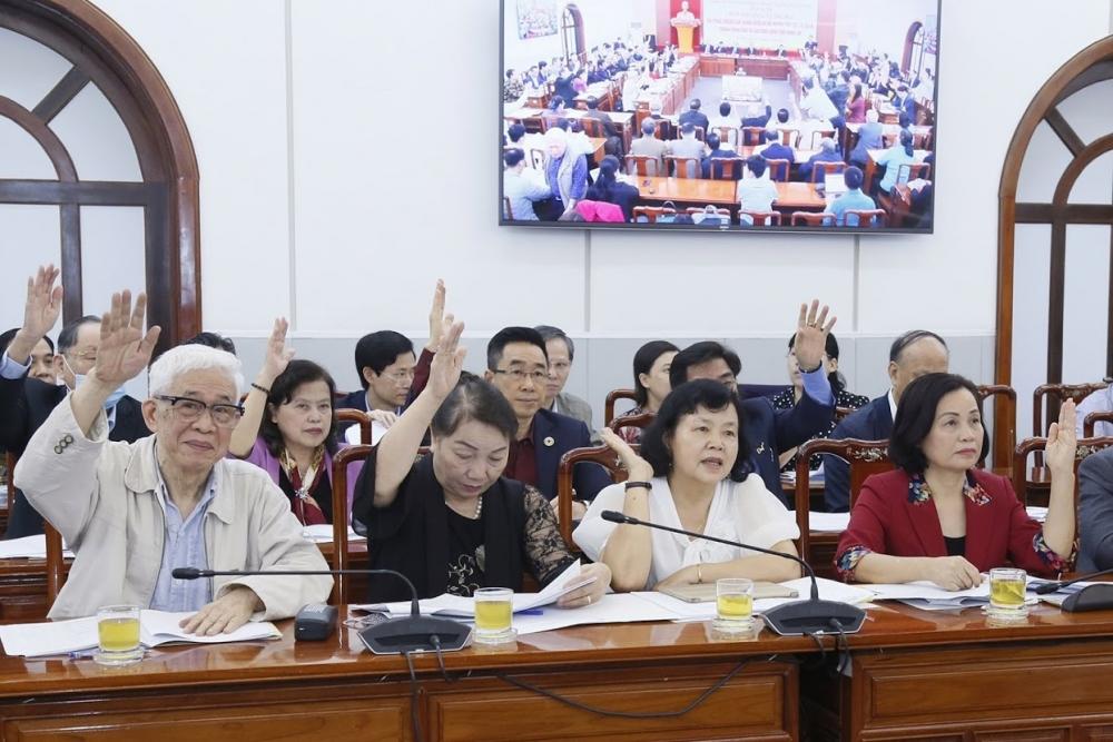Thống nhất danh sách sơ bộ 205 nhân sự cơ quan Trung ương giới thiệu ứng cử đại biểu Quốc hội khóa XV