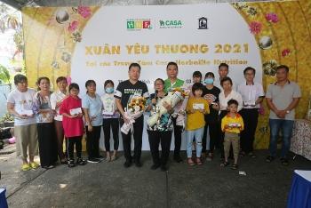 Mang Xuân yêu thương đến với 800 trẻ em có hoàn cảnh khó khăn