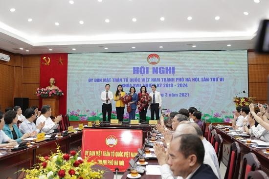 Kiện toàn Ủy viên Ủy ban Mặt trận Tổ quốc Việt Nam thành phố Hà Nội khóa XVII