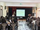 LĐLĐ quận Tây Hồ tập huấn về công tác tài chính công đoàn