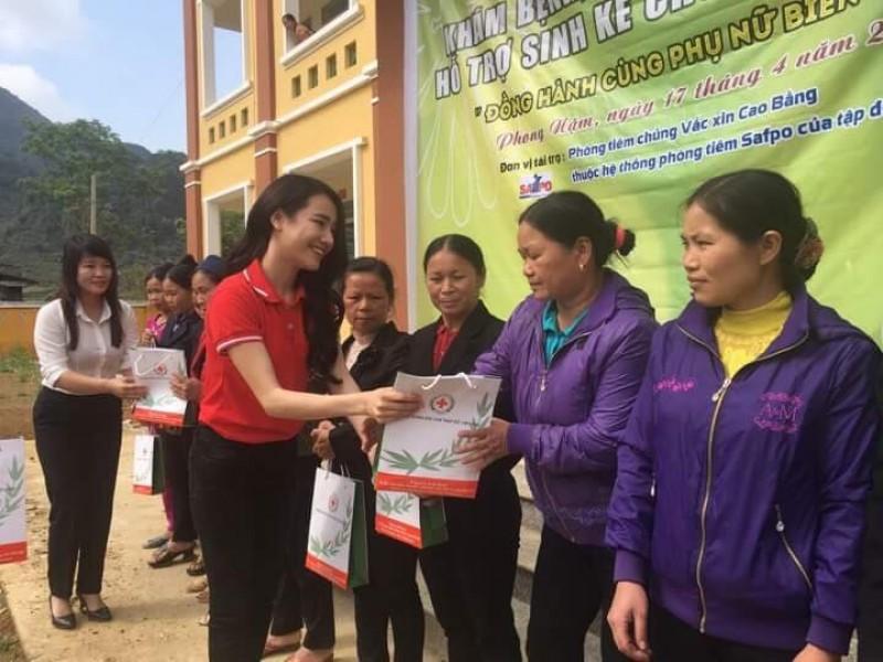 Đồng hành cùng phụ nữ nghèo Trùng Khánh, Cao Bằng