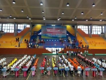 300 vận động viên dự Hội khỏe Tổng Công ty UDIC năm 2018
