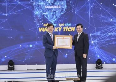 Sau 10 năm, vốn đầu tư của Samsung tại Việt Nam tăng gấp 26 lần