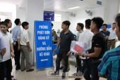 Tổ chức thi tiếng Hàn cho lao động ngành sản xuất chế tạo và ngư nghiệp