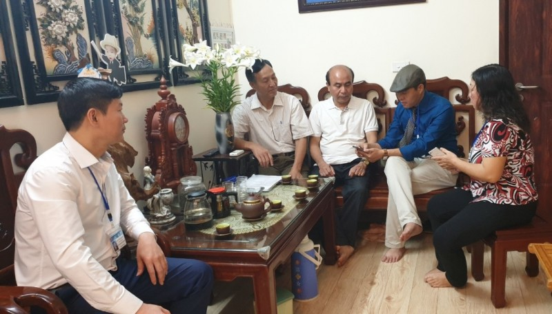 Phường Việt Hưng: Ra quân, tổng điều tra dân số và nhà ở tại 41 địa bàn
