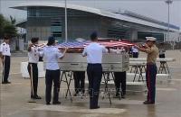 Bàn giao cho Hoa Kỳ 2 bộ hài cốt quân nhân mất tích trong chiến tranh