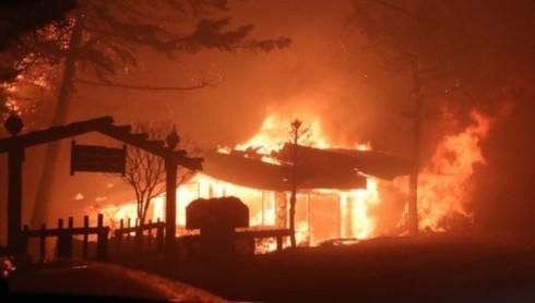 Hàn Quốc: Hơn 4.000 người dân phải sơ tán trong vụ cháy thảm họa