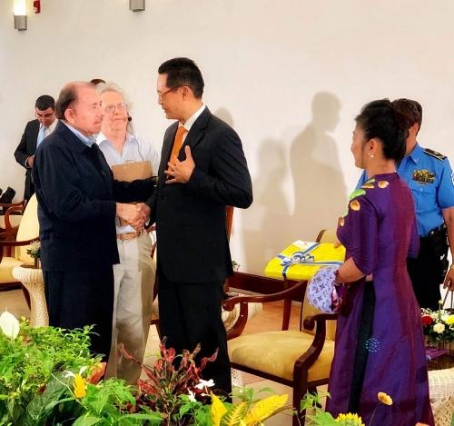 Tăng cường quan hệ hữu nghị với Chính phủ và nhân dân Nicaragua anh em