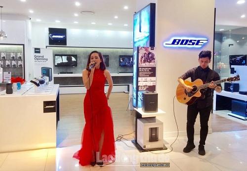 Trải nghiệm không gian âm thanh sống động đầu tiên của Bose Store tại Hà Nội
