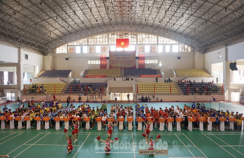 hon 700 sinh vien cac co so giao duc nghe nghiep du hoi thao nam 2019