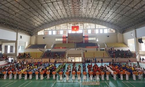 Hơn 700 sinh viên các cơ sở giáo dục nghề nghiệp dự Hội thao năm 2019