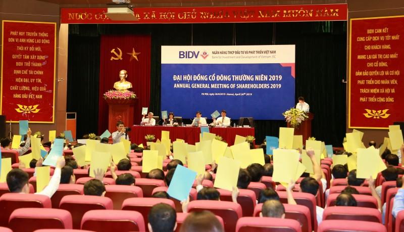 BIDV tổ chức Đại hội đồng cổ đông thường niên năm 2019
