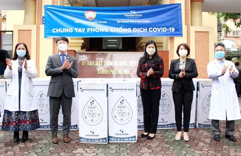 Hà Nội: Tiếp nhận tiền và hiện vật ủng hộ phòng chống Covid-19 trị giá hơn 29 tỷ đồng