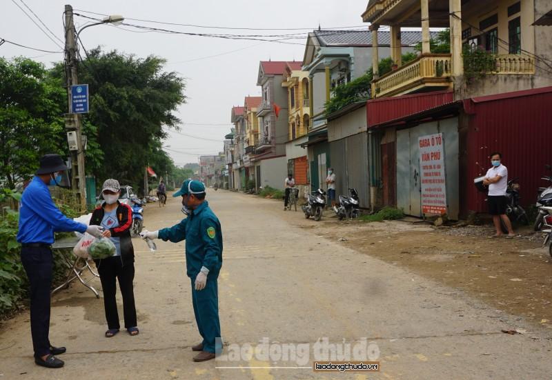 Người dân Hạ Lôi trong những ngày cách ly phòng chống dịch