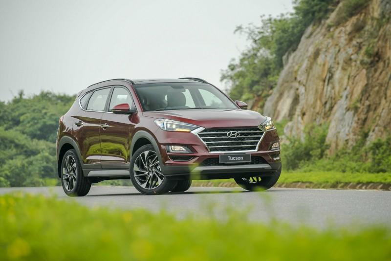 Mẫu xe Hyundai Tucson hút khách ấn tượng vớimức tăng trưởng46,5%