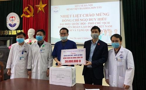 Công đoàn chủ động phối hợp với chính quyền phân bổ, giám sát gói cứu trợ an sinh xã hội