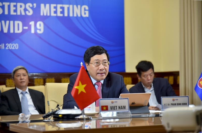 Bộ trưởng Ngoại giao ASEAN và Hoa Kỳ bàn về hợp tác ứng phó dịch bệnh COVID-19