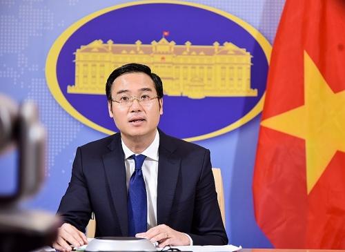 Kiên quyết phản đối mọi hành vi phương hại đến chủ quyền của Việt Nam