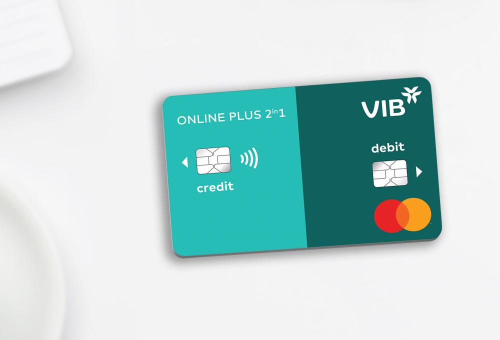 Ra mắt dòng thẻ VIB Online Plus 2in1 tích hợp thẻ tín dụng và thẻ thanh toán