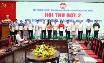 """Hà Nội: Tiếp nhận thêm 23,7 tỷ đồng ủng hộ Quỹ """"Vì biển, đảo Việt Nam"""""""