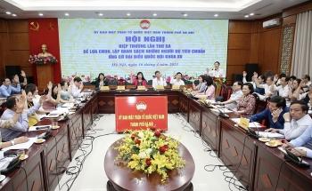 Hà Nội thông qua danh sách 36 ứng viên đại biểu Quốc hội khóa XV