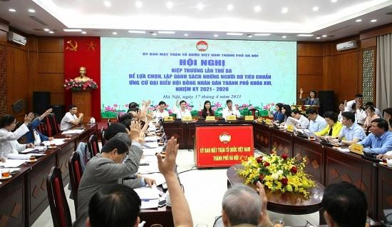 Hà Nội: 160 người đủ tiêu chuẩn ứng cử đại biểu Hội đồng nhân dân Thành phố khóa XVI