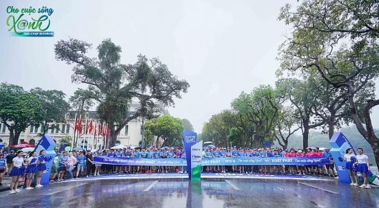 """BIDV tổ chức giải chạy thiện nguyện """"BIDVRun - Cho cuộc sống Xanh"""""""