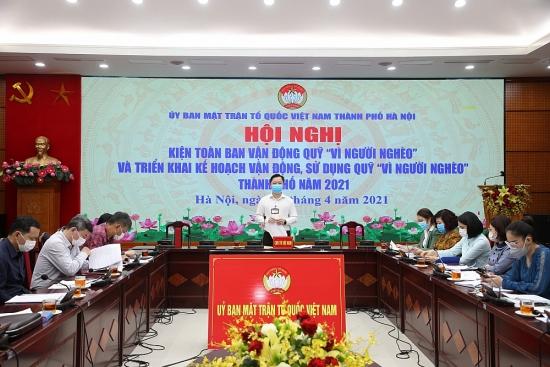 Ủy ban Mặt trận Tổ quốc Thành phố sẽ hỗ trợ xây mới nhà Đại đoàn kết cho 100 hộ nghèo, khó khăn
