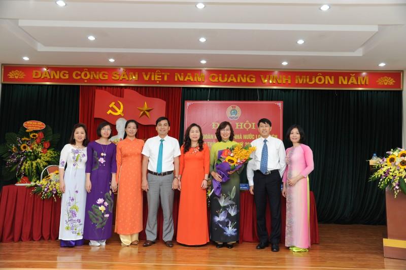 Công đoàn Kho bạc Nhà nước Long Biên tổ chức đại hội điểm