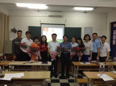 Long Biên: Thành lập Công đoàn Công ty cổ phần Hợp tác JA Việt