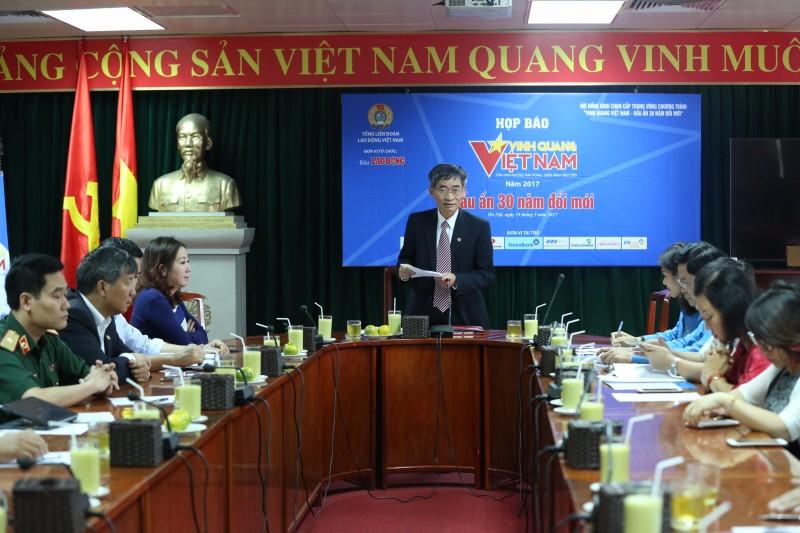 Sẽ tôn vinh 30 tập thể, cá nhân tại 'Vinh quang Việt Nam'