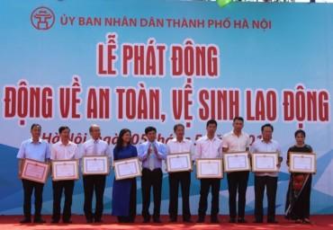 Hà Nội phát động Tháng hành động về an toàn, vệ sinh lao động năm 2018