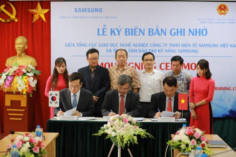 Samsung tiếp tục đồng hành với Việt Nam trong kỳ thi tay nghề thế giới