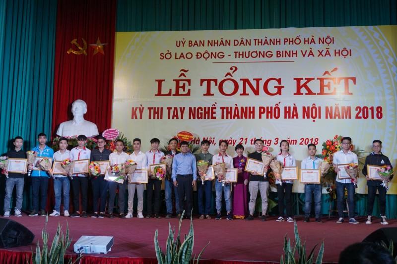 Hội giảng nhà giáo giáo dục nghề nghiệp 2018 diễn ra tại Hà Nội