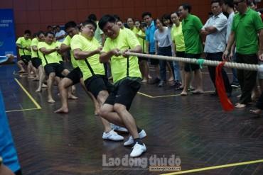 450 vận động viên Cụm thi đua số 15 tham dự Hội khỏe năm 2018