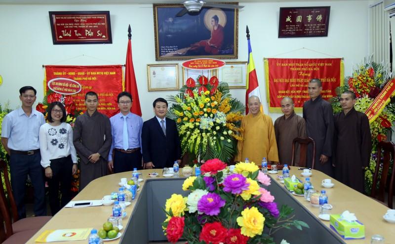 Chúc mừng Giáo hội Phật giáo nhân Đại lễ Phật đản Phật lịch 2562