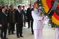Nhiều đoàn đại biểu nước ngoài tới viếng nguyên Chủ tịch nước, Đại tướng Lê Đức Anh