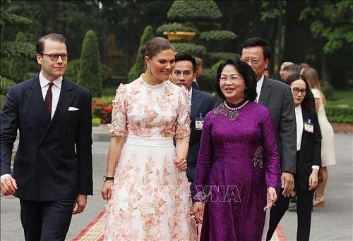 Công chúa kế vị cùng hơn 50 doanh nghiệp hàng đầu Thụy Điển tới Việt Nam