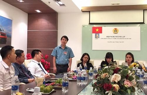 LĐLĐ quận Long Biên: Thành lập Công đoàn Công ty TNHH Auto Hoàng Gia Hà Nội