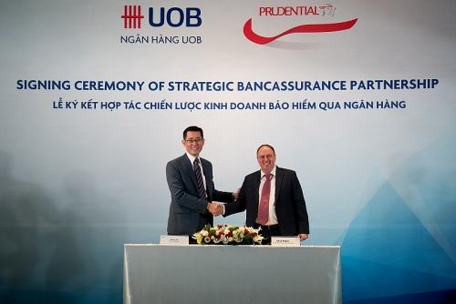 Prudential và Ngân hàng UOB hợp tác chiến lược kinh doanh bảo hiểm