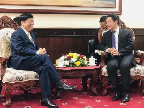 Tiếp tục vun đắp quan hệ đặc biệt Việt - Lào