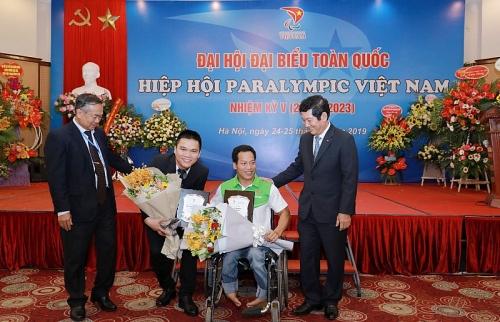 Trao thưởng tới 10 vận động viên đoạt huy chương tại Asian Para Games 2018